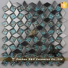 High Quality New Design Home Decor Metal Mosaic,Ceramic Tiles Importer Dubai
