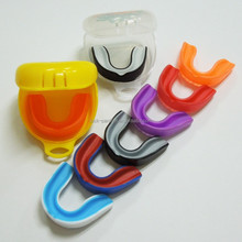 blister card package two layer color mouth guard