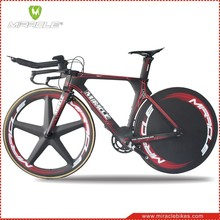 MIRACLE 2016 new triathlon bicycle,full carbon TT bike frame,Chinese new time trial bikes carbon frame,full carbon bike frame