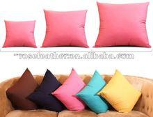 2015 fashion duck feather 2-4cm cushion wholesale