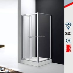 Italy design hot sale folding shower screen, bifold shower door for bathroom MD-GB002