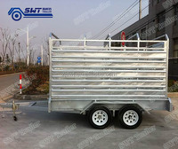 Galvanized rail for box trailer