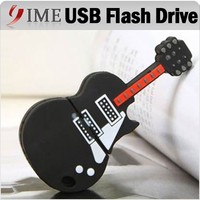 Guitar Usb Flash Drive Musical Instrument Usb Memory Stick Music Gift 4GB 8GB 16GB 32GB 64GB Pen drive Cartoon Usb PenDrive