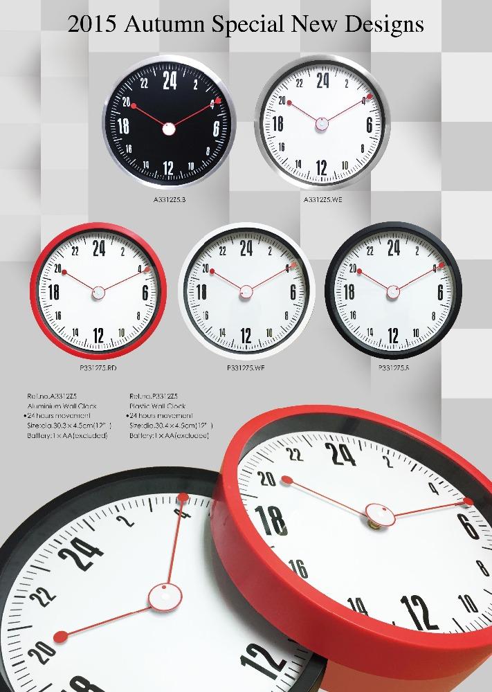 Wall decoration wall clock clock mechanisms for crafts for Clock mechanisms for craft projects