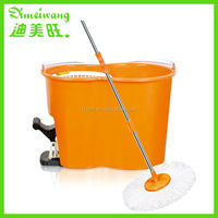 2015 Popular Item 360 degree rotating magic mop with Footpedal pva easy perfect cleaning mop