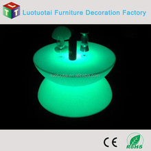 CE, RoHS Certification LED illuminated lounge tables
