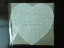 Wholesale heart shaped paper jigsaw puzzl e& educational puzzles