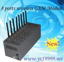 8 port gsm modem 8 sim slots 3g gsm modem wifi quectel uc15 module bulk sms mms sending receiving