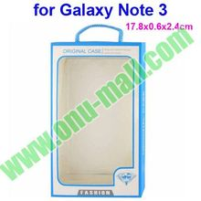 Packaging Box for Samsung Note Case for Galaxy Note Cases Retail Package (17.8x0.6x2.4cm)