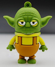 Star Wars Newest Master Yoda USB flash drive 64GB 32GB u disk 16GB 8GB 4GB 2GB Pen drives flash card USB Stick cartoon pendrives