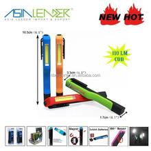 Magnetic Pocket COB Light Stick with Clip