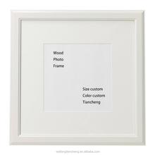 White wood timber frame picture frame / Eco-friendly picture frame bulk