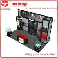 Yota China Portable Aluminum Extrusion Trade Show Exhibition Booth