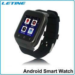 3G WiFi Smart Watches Bluetooth Android Watches Phone With 5.0M Camera