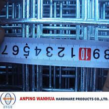 Anping Wanhua--1x1 galvanized welded wire mesh panels factory