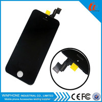 Big promotion Original LCD Assembly completely screen for iphone 5 lcd replacement with excellent testing