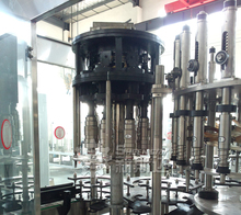 High design quality Automatic water filling line in glass bottle