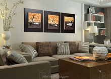 realistic handmade natural scenery wall picture