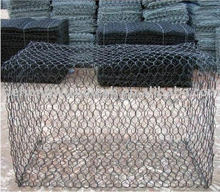 Retaining Wall Metal Wire Mesh Gabion Box Stone Cage(ISO9001)
