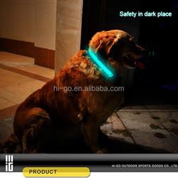 new products 2015 wholesale led dog collar flashing dog led collar for satety