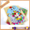 Promotional adult&kid wooden puzzle wooden alphabet toy alphabet wooden jigsaw puzzle