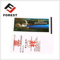 High quality thermal printing paper admission tickets