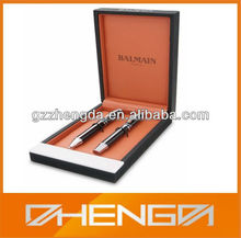 Hot!!! Customized Made-in-China Double Pens Pu Leather Box (ZDL13-P006)