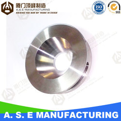 stainless steel machined part with oem service metal detectors parts
