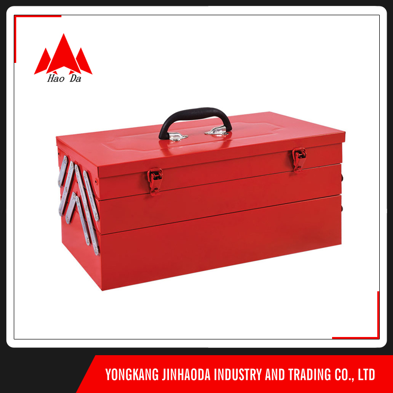 wholesale luxury fashion tool box cold rolled steel tool box