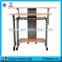 High Quality Strong metal frame computer table KC-7792M