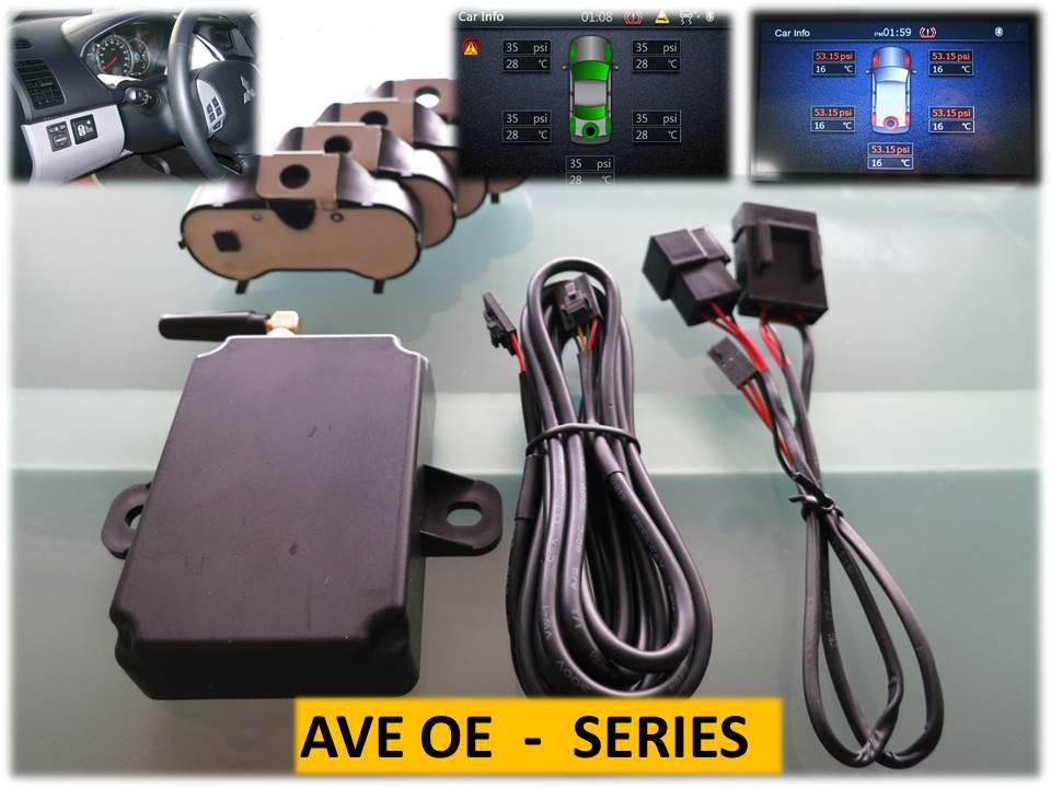 AVE TPMS TFT LCD display Tire Pressure Sensor for Mitsubishi Triton OEM