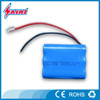 Rechargeable 18650 5600mah 12v lithium ion battery pack for led light