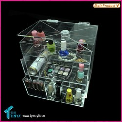 Big Discount On Sale New Design Perfume Stand Plastic Drawer Storage Box
