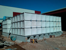 GRP Rectangular water tank, large water tank FRP SMC combined water tank with high quality made in Huili