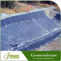 resistant chemical hdpe geomembrane for dam liner plastic liner in ponds plastic raw material ldpe