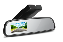 Professional new hot gift 1296p rearview mirror dvr car with speed cam ADAS GPS tracker