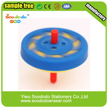Wholesale Puzzle Mini Kawaii Spin Top Eraser For Kids