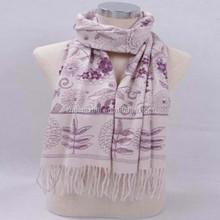 100% cashmere embroidery shawl scarf pashmina