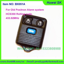 New 2015 rolling code FORdt 3buttons Remote key with brazil positron alarm system,positron key, 433.92Mhz