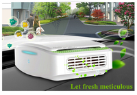 High performance car air purifier and ionizer smart healthcare in wholesale.