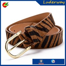 fashion brand different patterns genuine leather belt horse hair woman hot sex images for full body belt