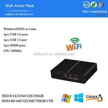 2015 New Arrival Wholesale 4USB WAP mini pc case