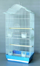 decorative metal bird cage Complete starter large bird canary finch white cage