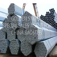 Welded thin- tube type of casing pipe thread structure steel welded pipe truss
