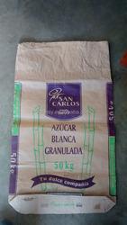 3 layer kraft brown paper bag,square bottom kraft packing bag