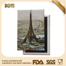 custom made tourist souvenir france fridge magnet
