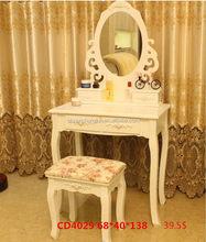Newest cheap dressing table art deco mirror