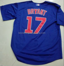 Chicago Cubs 2015 Cool Base Kris Bryant Alternate Jersey