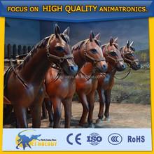 Handmade Decorative Horse Animal Statues for Park