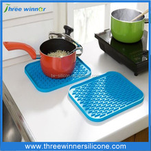 factory wholesale durable cheap pot mat custom kitchen hot mat